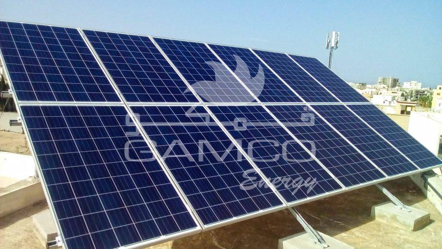 Installation Photovoltaïque  3,120kwc